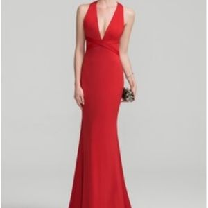 Dresses & Skirts - Beautiful, sexy red open neck,backless halter gown